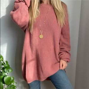 UO mauve sweater